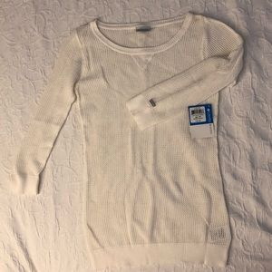 Colombia knit white sweater